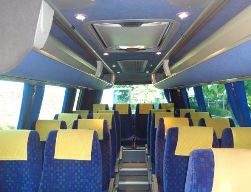 Autobuses 24 plazas en Sevilla