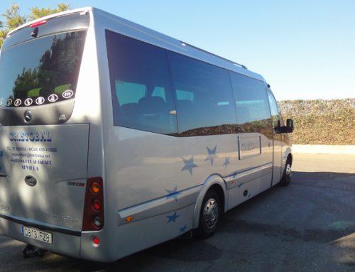 Autocares en Sevilla de 19 plazas
