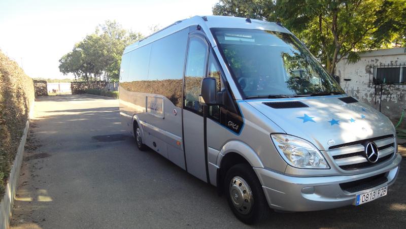 Alquiler Microbús En Sevilla 19 Y 24 Plazas Autocares Cristóbal