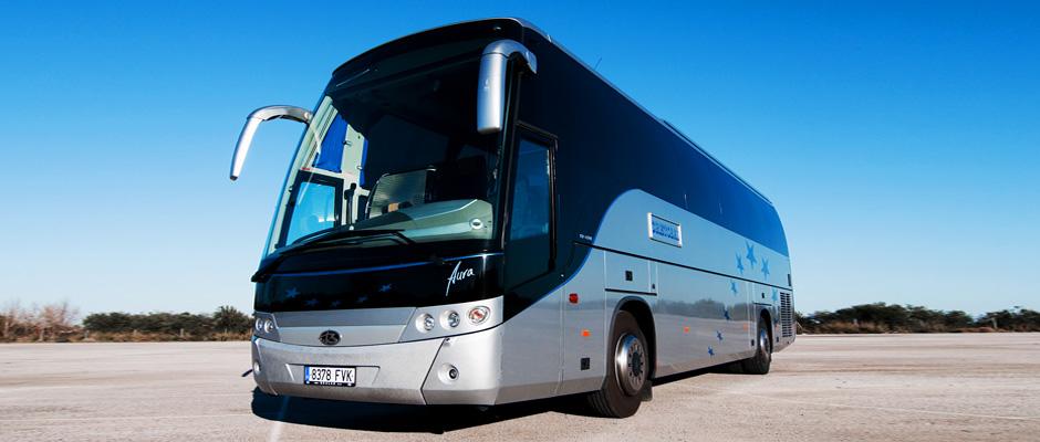 alquiler de autobuses en Sevilla